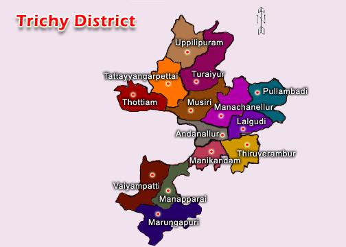 Trichy Map
